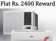 Bumper Offer - Flat Rs. 2400 FKM Rewards On Air Conditioners !!