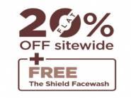 Flat Rs. 320 FKM Cashback [ FREE Facewash + 20% Off Sitewide ]