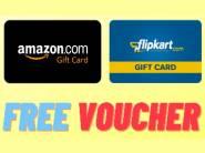 FREE Gift Vouchers & Earn Extra Money [ Amazon, Flipkart, Big Bazaar ]