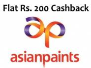 Asianpaints Wall Stickers, Sanitizers & More [ Flat Rs. 200 FKM Cashback ]