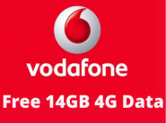Get Free 14GB 4G Data On Vodafone Without Internet !!