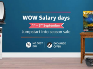 LIVE NOW : Amazon WOW Salary Days [ 40% - 60% Off On Gadgets + Rs. 1500 Bank Off ] !!