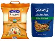 Daawat Basmati Rice & Masalas Starts at Rs. 25 [ Buy More Save More ]