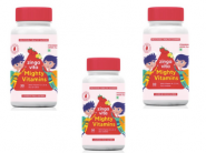 Mighty Vitamins Gummies [ Pack Of 3, 90 Gummies ] At Rs. 6 Per Pc + Free Shipping