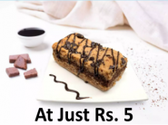 Must Order : Chocolate Brookie At Just Rs. 5 [ For All Users, Valid 5 Times ]