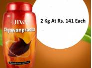 Lowest : Jiva Herbal Chawanprash 2Kg At Rs. 141 Each + Free Shipping