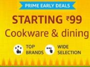 Up to 60% Off: Cookware & Dining From Just Rs. 99