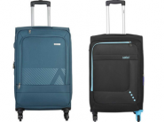 Upto 81% Off : Branded Suitcases & Trolley Bags Starting @ 1499