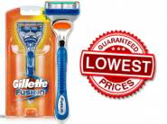 Lowest Ever : Gillette Fusion Razor At Just Rs. 152 [ Shipping Included ]
