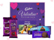 Valentines Special : Flat Rs. 265 FKM Cashback On Cadbury Personalized Gifts !!