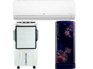 Top 3 Summer Appliances Sold On FKM Today : Extra 10% Bank Discount + FKM Rewards