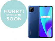 Flat Rs. 3000 Off On realme C15 (64 GB, 4 GB ) With Bank Off + FKM Cashback