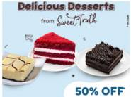 Dessert Sale : Cakes, Pastries & More [ Worth Rs. 260 At Just Rs. 80 ] With Free Delivery !!
