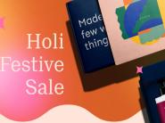 Holi Festival Sale: Flat 30% Off On Holi Combos + Extra 40% FKM Cashback!!