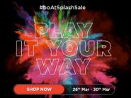 boAt Splash Sale: Get Upto Rs.700 Off + 10% Coupon Off + FKM Rewards