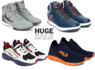 Dhamaka Offer : Upto 85% Off On FILA Shoes With Bank Offer + Extra FKM Cashback