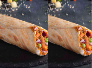 Cheesy Potato Wrap ( Pack of 2 ) At Rs. 38 Each + Free Delivery