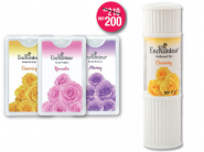 All New Combo: Enchanteur Talc + Pocket Perfumes (Pack of 3) At Rs. 17 Each!!