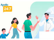 Apollo 247 Live Again : 15% Coupon Off + Flat Rs. 150 FKM Cashback [ Valid on Lab Test & Consultation Also ]