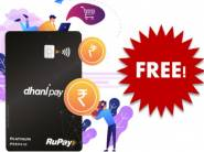 Free Rs. 100 FKM Cashback - Apply For Lifetime Free Dhani Card [ Extra Rs. 100 In Wallet ]