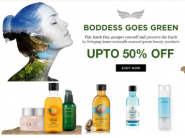 Boddess Biggest Offer : Upto 50% Off + Free Gifts + Extra Rs.350 FKM Cashback !!