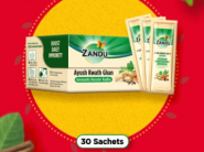 Protection From Viral Infection : Instant Kadha (30 Sachets) At Just Rs.160 + Free Shipping !!