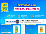 Triple Dhamaka - Best Deals On Smartphones [ Extra Prepaid off + 10% HDFC off + Extra FKM Cashback ]