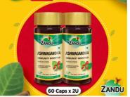 High Immunity & Low Stress : Get Flat 50% Off + Buy 1 Get 1 Free On Asvagandha (60 Caps) !!