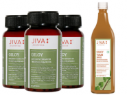Fight Against Virus - Jiva Giloy Capsule (Pack of 3) + Giloy Tulsi Juice At Rs. 300