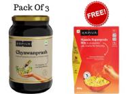 Free Masala Mix + Flat Rs.606 FKM Cashback On Chyawanprash (Pack Of 3) + Free Shipping !!