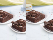 Delicious Treat: Oreo Brownie [ Pack Of 2 ] + 2 Coke Can At Just Rs.28 Each + Free Delivery