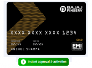 Apply For Bajaj No Cost EMI Card Online [ 10 Seconds Approval & High Credit Limit ]