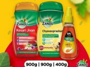 3 In 1 Offer: Chyavanprashad + Honey + Kesari Jivan At Rs. 624 [ Extra 57% Savings ]