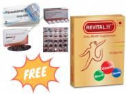 FREE Covid Care Kit + Revital H Capsule [ 50 Pcs ] At Rs. 65 Each