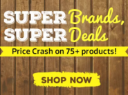 Super Deals On Top Brands: Flat 50% Off + Price Cash On 75+ Products & Extra FKM Rewards