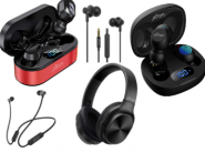 Ptron Sale Dhamaka : Upto 80% Off On Headphones & Earbuds Starting At Just Rs.199 !!