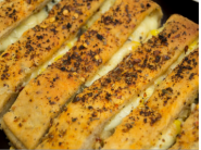 New Launch : Garlic Bread With Free Cheese Dip ( Pack Of 2) At Just Rs.18 Each !!