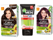 Garnier Color Naturals Hair Color [ 7 Units ] + Acno Fight Facewash [ 2 Units ] At Rs. 118 Each!