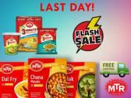 Increased Cashback - Flat Rs. 250 FKM cashback on MTR Foods
