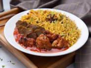 Special Treat - Chicken Rice Bowl With Chicken Tikka At Rs. 27