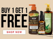 Buy 1 Get 1 FREE - WOW Skin Products Starts At Rs. 74 Each [ Upto Rs. 310 FKM CB ]