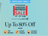 Early Sale For Prime Users - Clothing & More From Rs.47