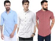 Biggest Fashion Sale - Top Brands Shirts, Min 50% Off + Bank Offers + Free Delivery