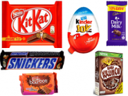 Selling Fast : Flat Rs.150 Cashback On Chocolates & Biscuits Starting At Just Rs.10 !!