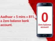 Open Zero Balance Account For Free + Rs. 100 FKM Cashback