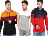 Last Few Days - Min 75% Off On Top Brands Sweatshirts From Just Rs.245