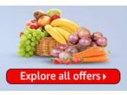 Flat 50% Cashback on Fruits & Vegetables [ Minimum order Of Rs. 150 ]