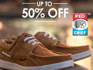 Increased CB - Red Chief Range Up To 50% Off + Extra Rs. 370 FKM Cashback !!
