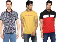 Flat Rs.300 Cashback + Upto 50% Off On Red Chief Tshirts !!