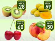 2 hours Delivery - Fruits & Vegetables Starts At Rs. 11 + Flat Rs. 100 Cashback